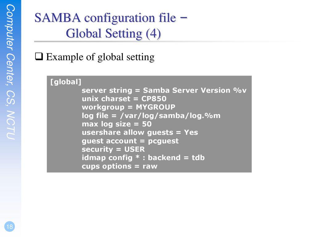 Samba  - ppt download