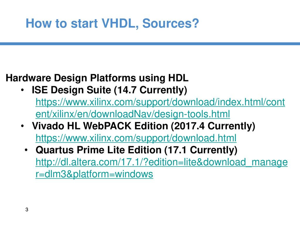 VHDL Tutorial  - ppt download