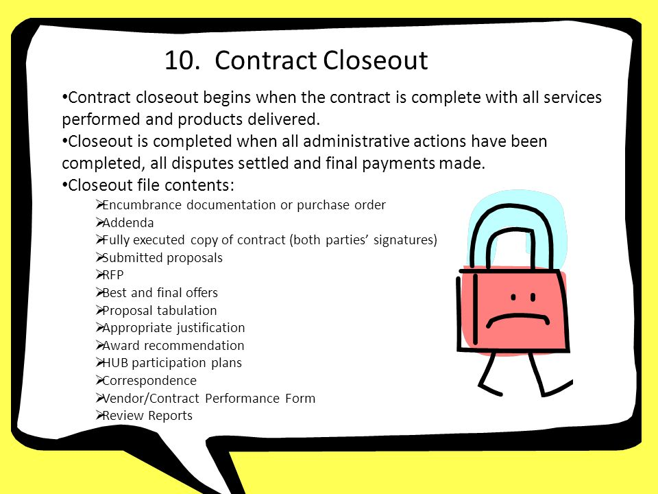 fully executed copy of contract