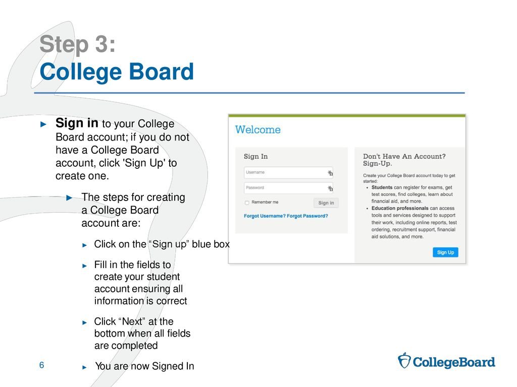 Linking Khan Academy and College Board Student Accounts