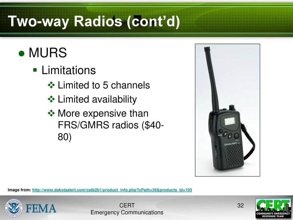 Emergency Communications & Amateur Radio - ppt download