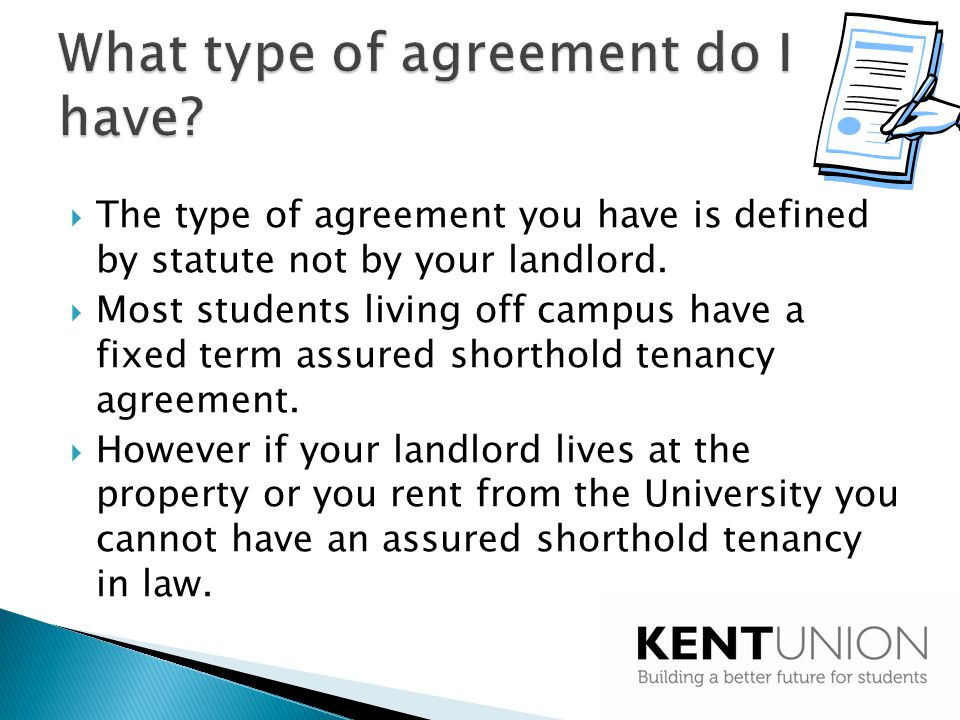 Understanding Your Tenancy Agreement Ppt Video Online Download