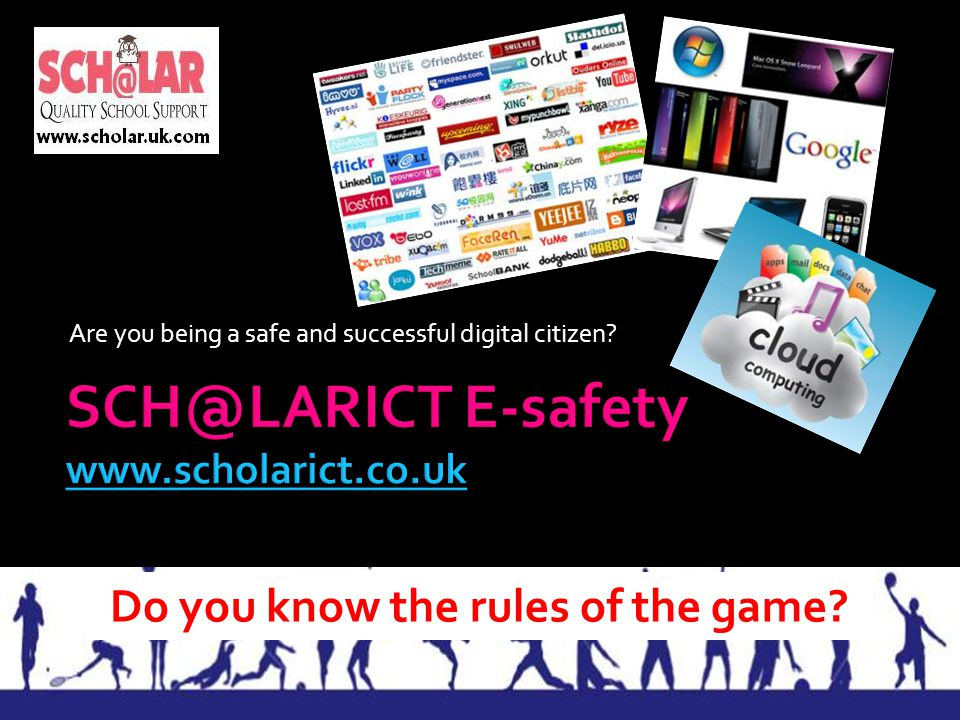 SCH@LARICT E-safety www.scholarict.co.uk
