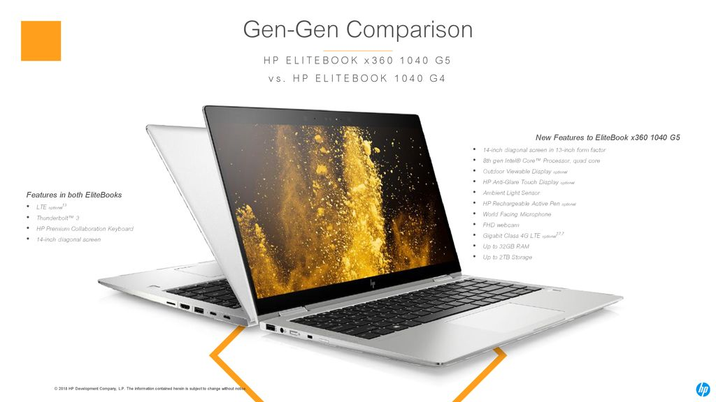 Gen-Gen Comparison HP ELITEBOOK x G5 vs. HP ELITEBOOK 1040 G4 dfac33dbb8
