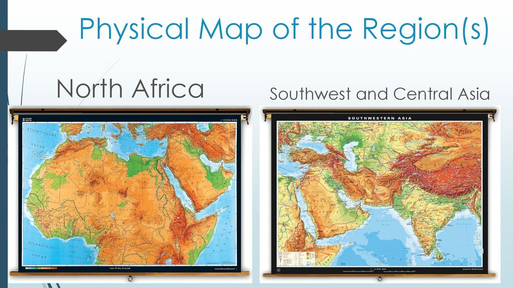 The Physical Geography of North Africa, Southwest, and ...