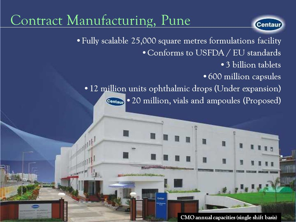 Contract Manufacturing, Pune