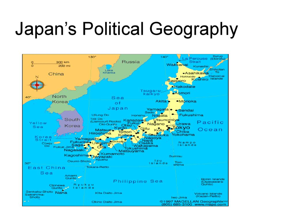 Japan\'s Political Geography - ppt download