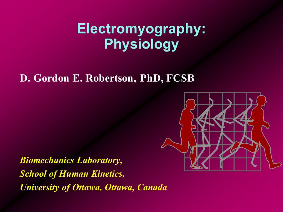 Electromyography: Physiology