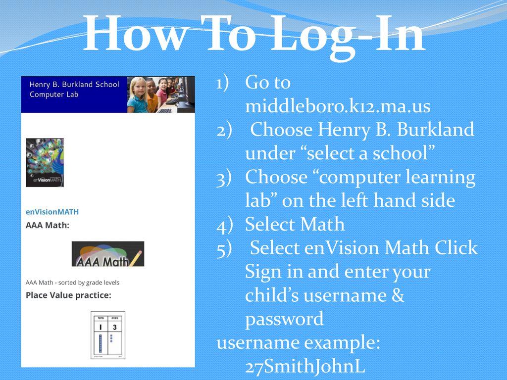 EnVision 2 0 Math Parent Tip Guide Room ppt download