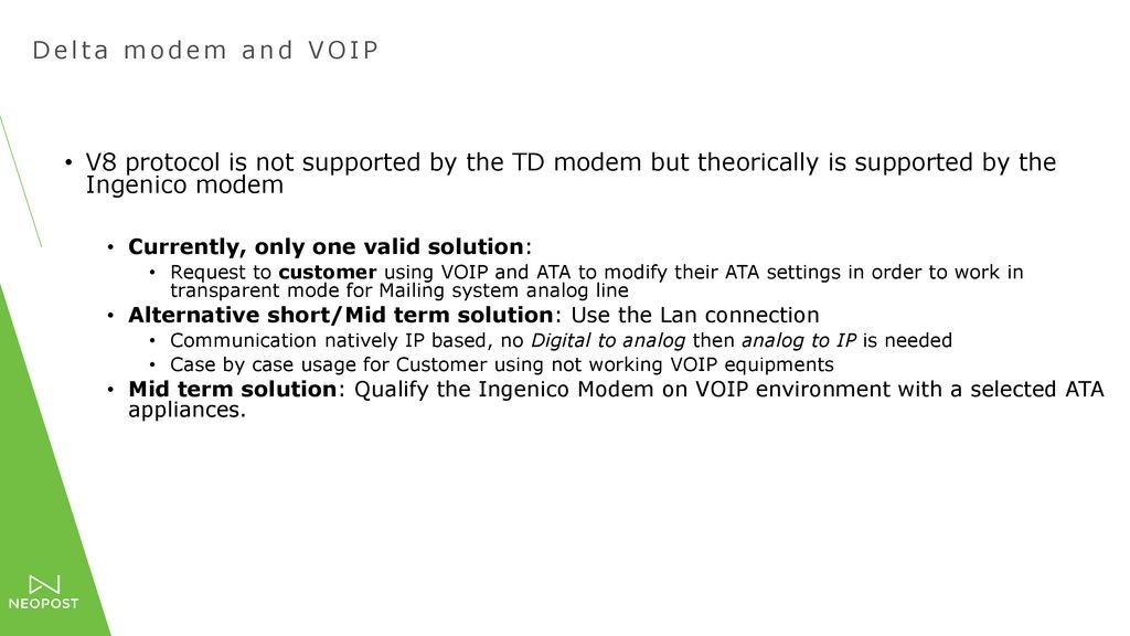 Voice Over Internet Protocol - ppt download