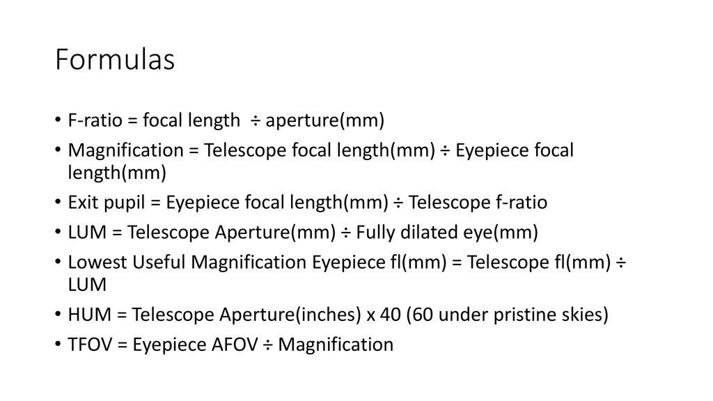 Eyepieces Paul Surowiec  - ppt download