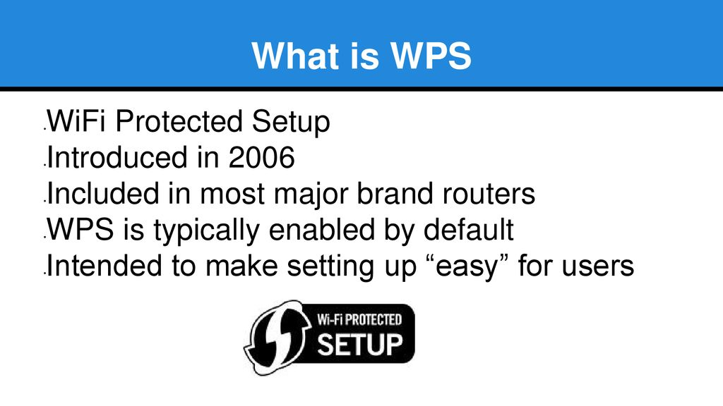 Breaking WPS with Reaver - ppt download