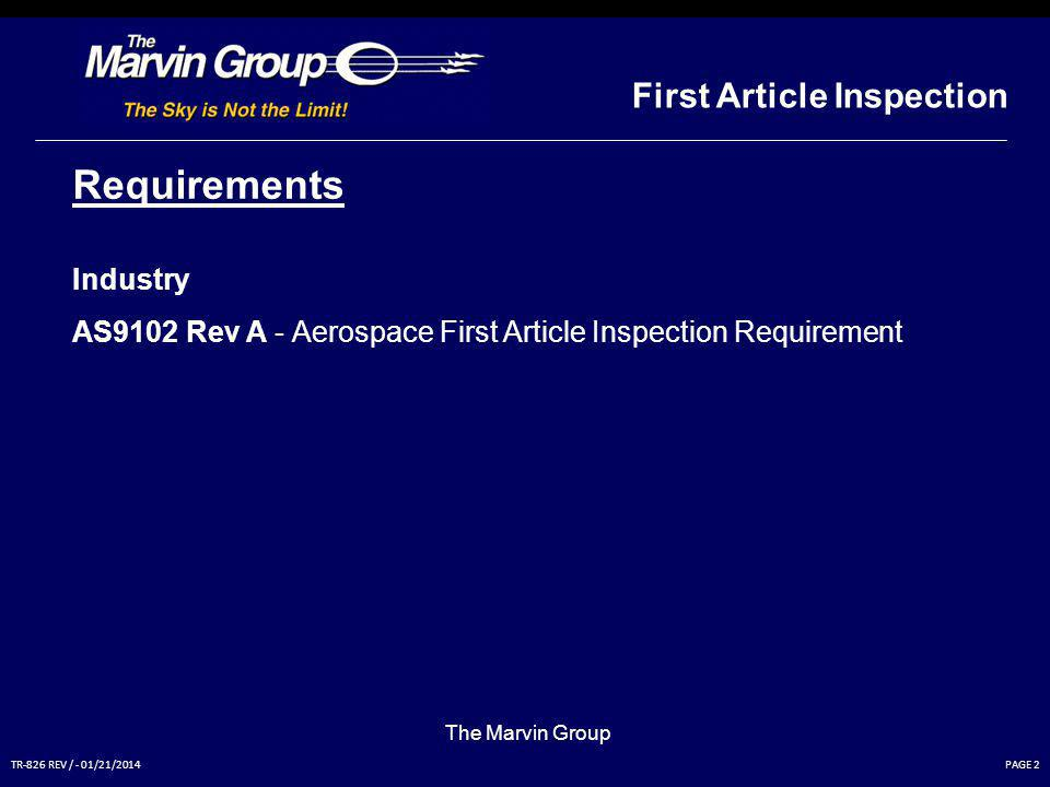 As9102 First Article Inspection Report Ppt Video Online
