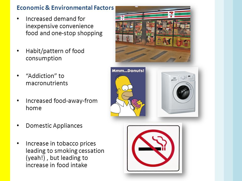 Economic & Environmental Factors