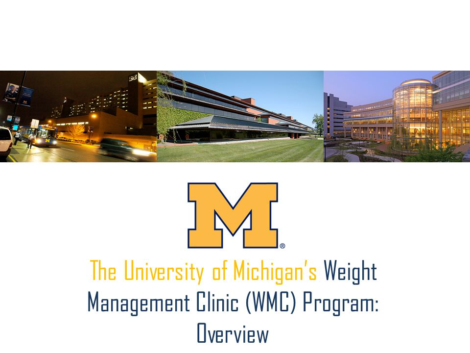 The University of Michigan's Weight Management Clinic (WMC) Program: