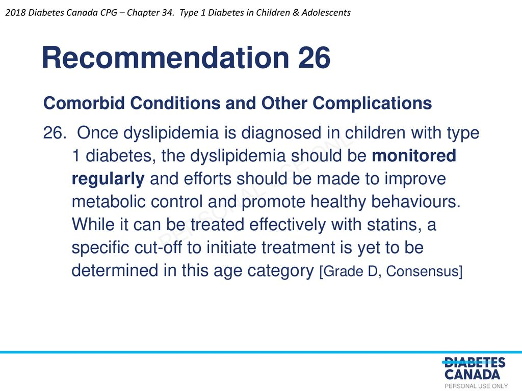 Type 1 Diabetes in Children and Adolescents - ppt download