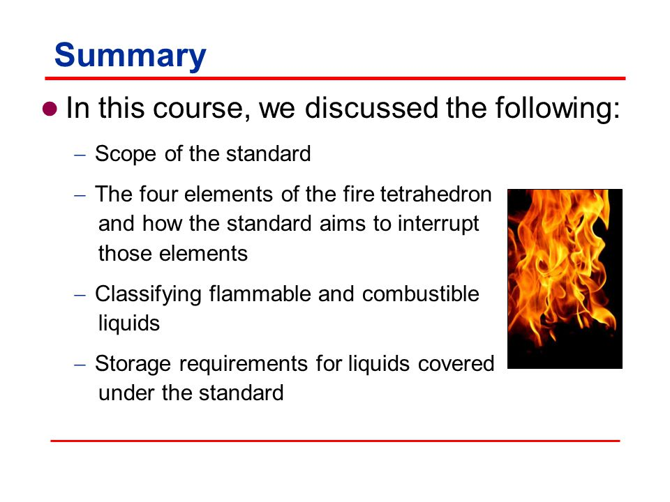 Summary In this course, we discussed the following: