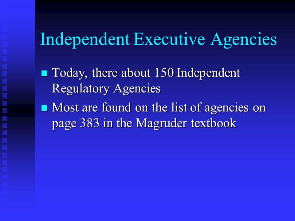 Magruder Chapter 15 The Bureaucracy