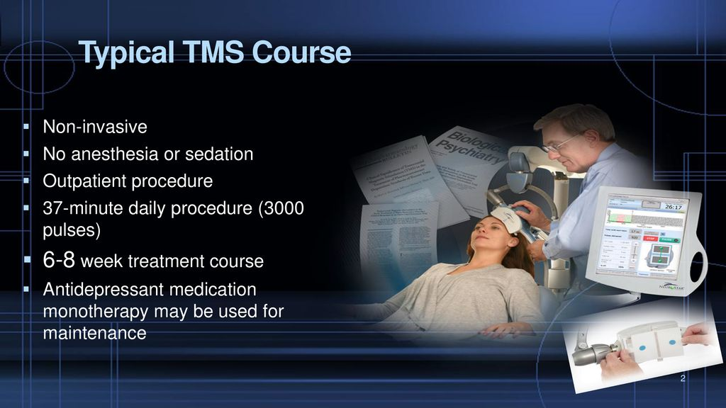 TMS Therapy Tarique Perera MD Clinical Director Contemporary Care