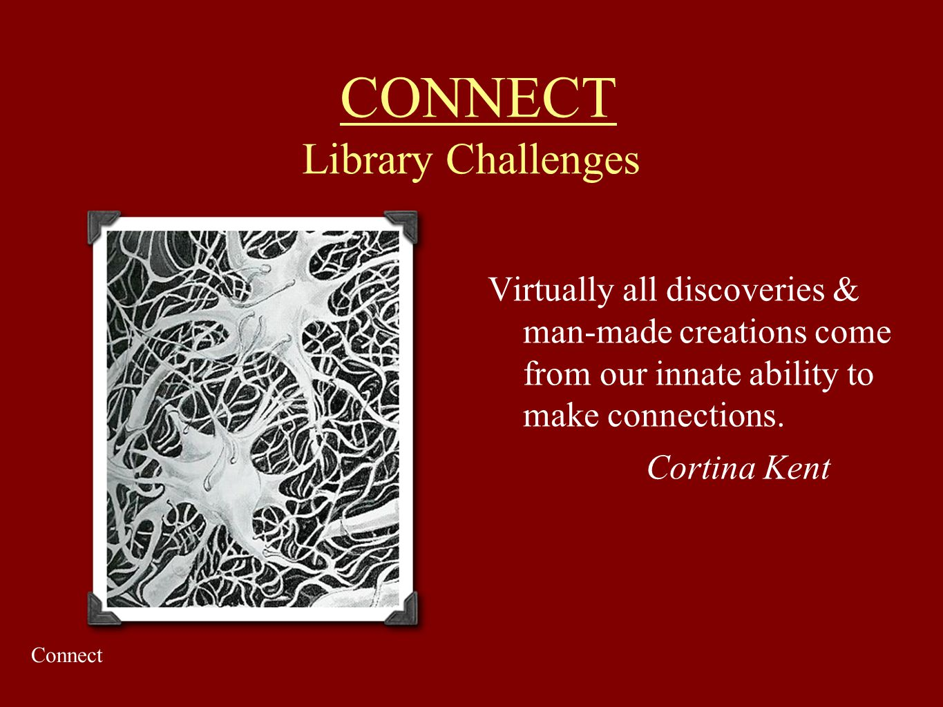 CONNECT Library Challenges