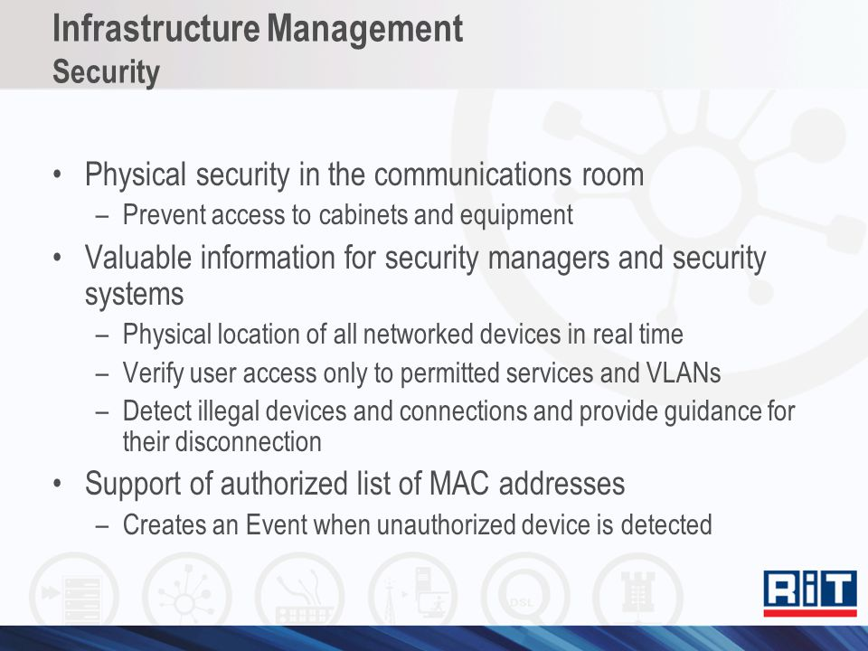 Infrastructure Management Security