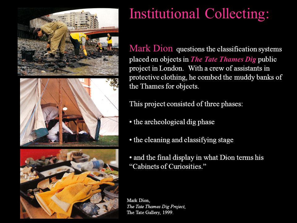 Institutional Collecting: