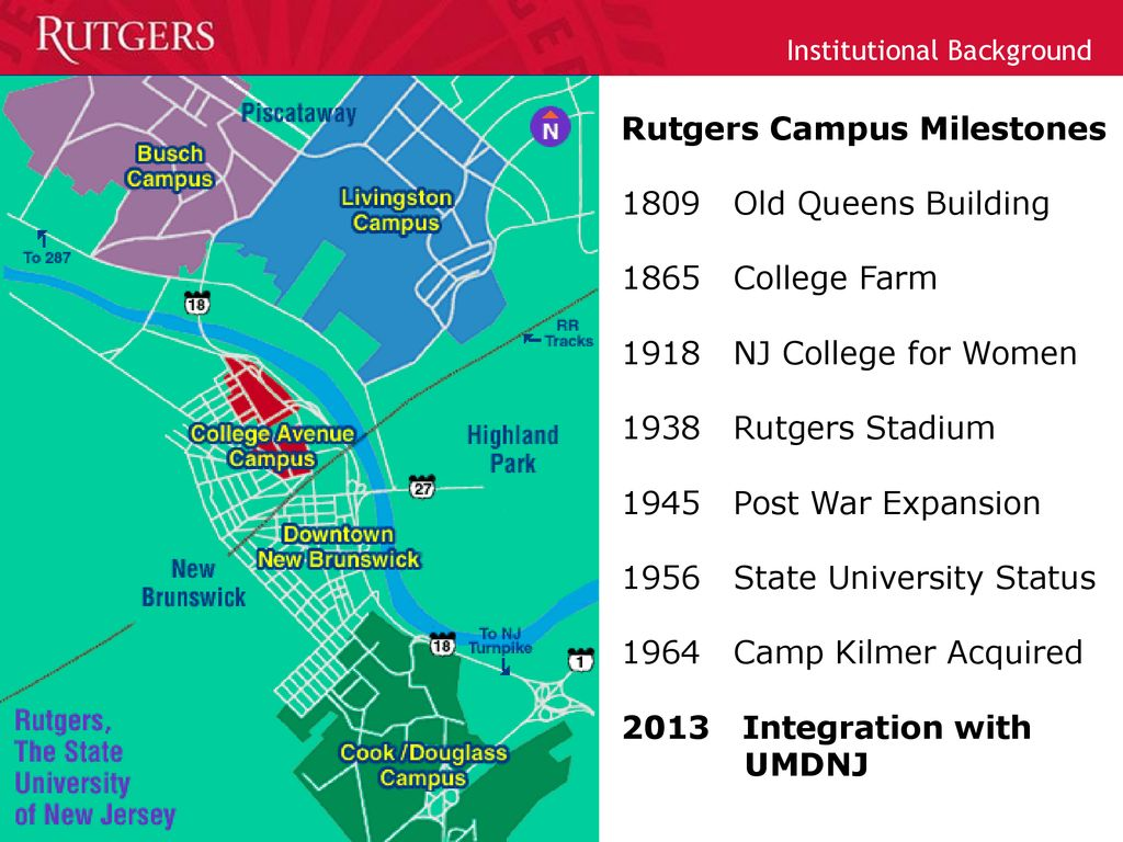 Rutgers Douglass Campus Map.Five Campuses One Rutgers Nb Ppt Download
