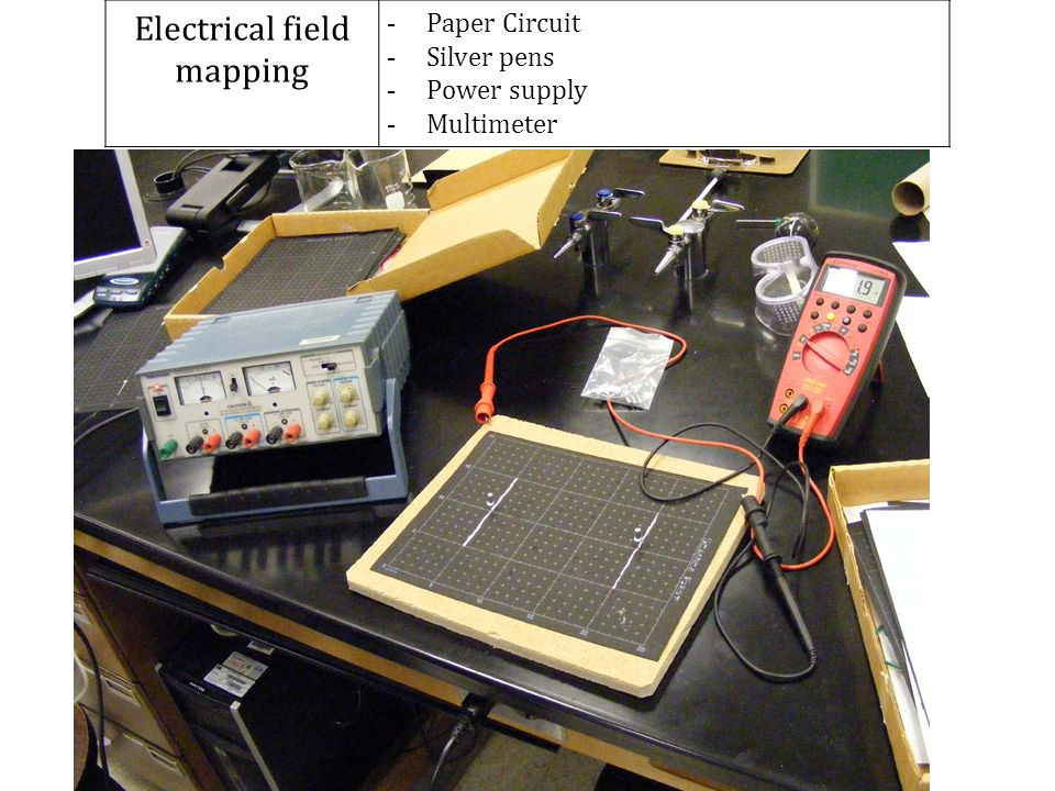 Electrical field mapping