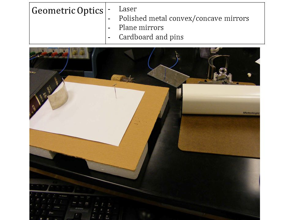 Geometric Optics Laser Polished metal convex/concave mirrors