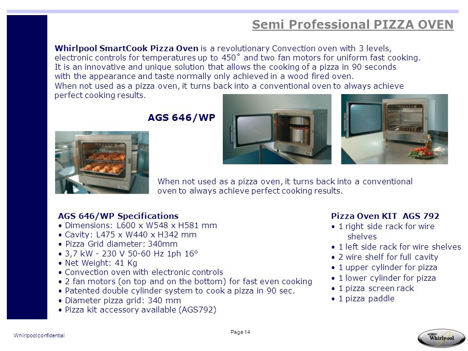 Semi Professional PIZZA OVEN