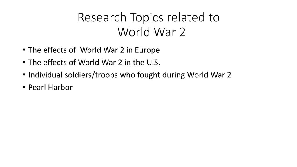 war topics to write about