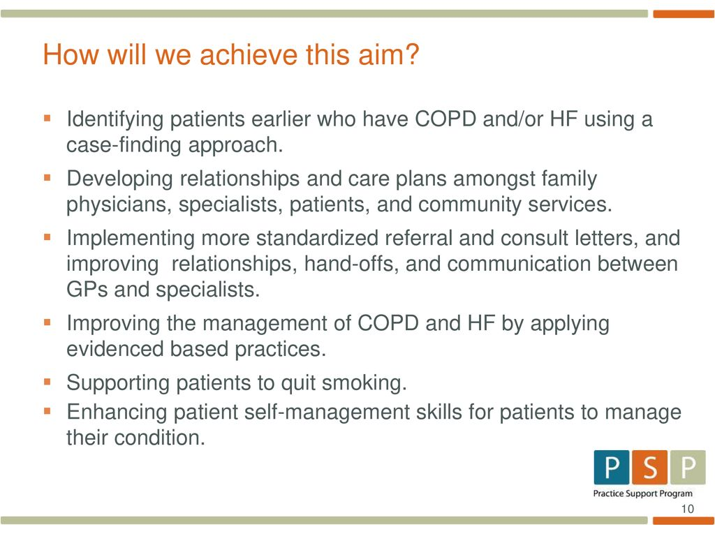 Shared System of Care COPD/Heart Failure Learning Session 1 - ppt