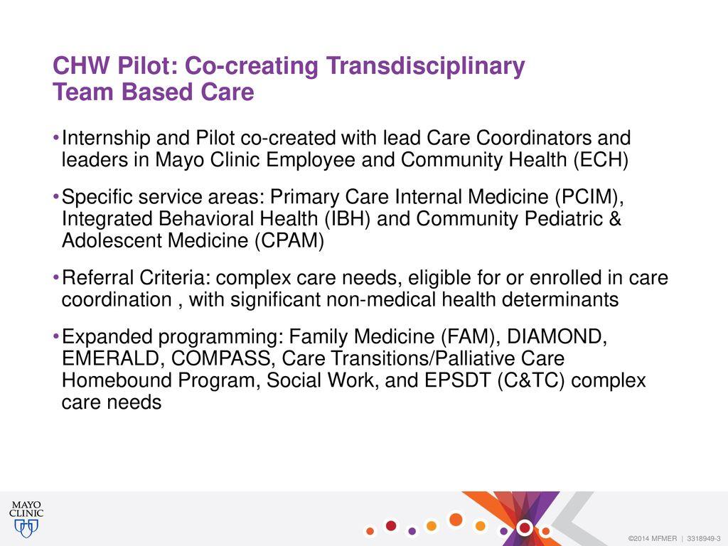 Community-Based Co-Supervisory Community Health Worker Model