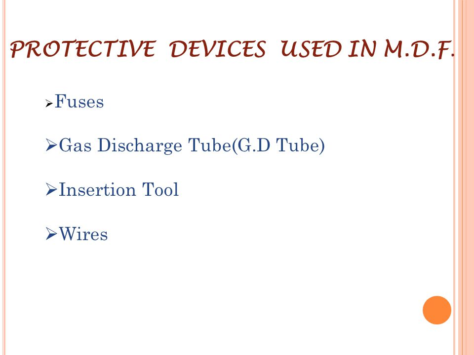 Gas Discharge Tube(G.D Tube) Insertion Tool Wires