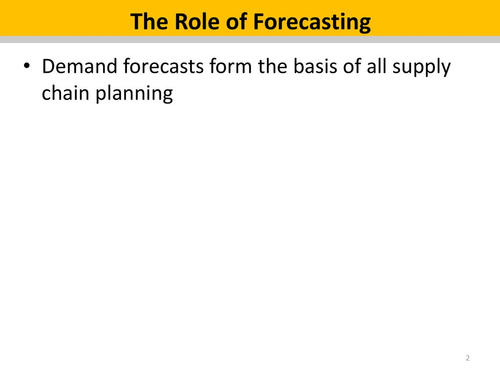 Chapter 4: Demand Forecast in Fashion Supply Chains - ppt