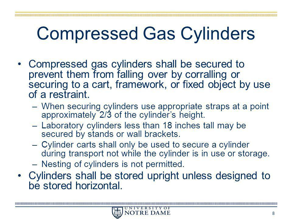 Compressed Gas Cylinders