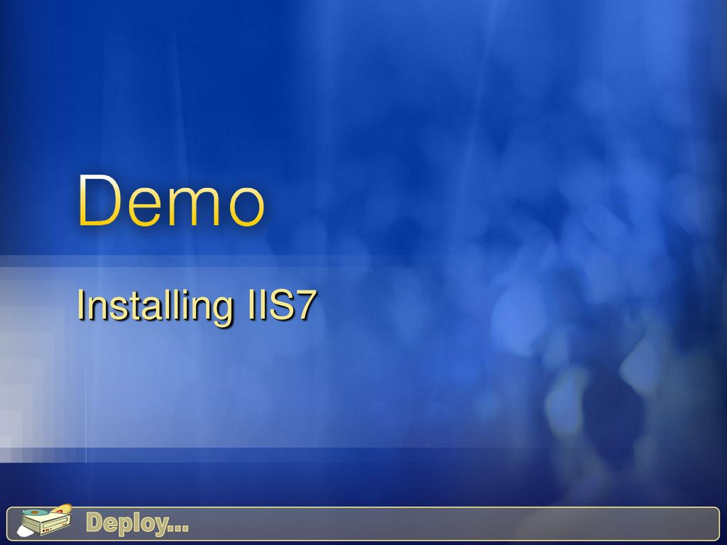 IIS 7: The Administrator's Guide - ppt download