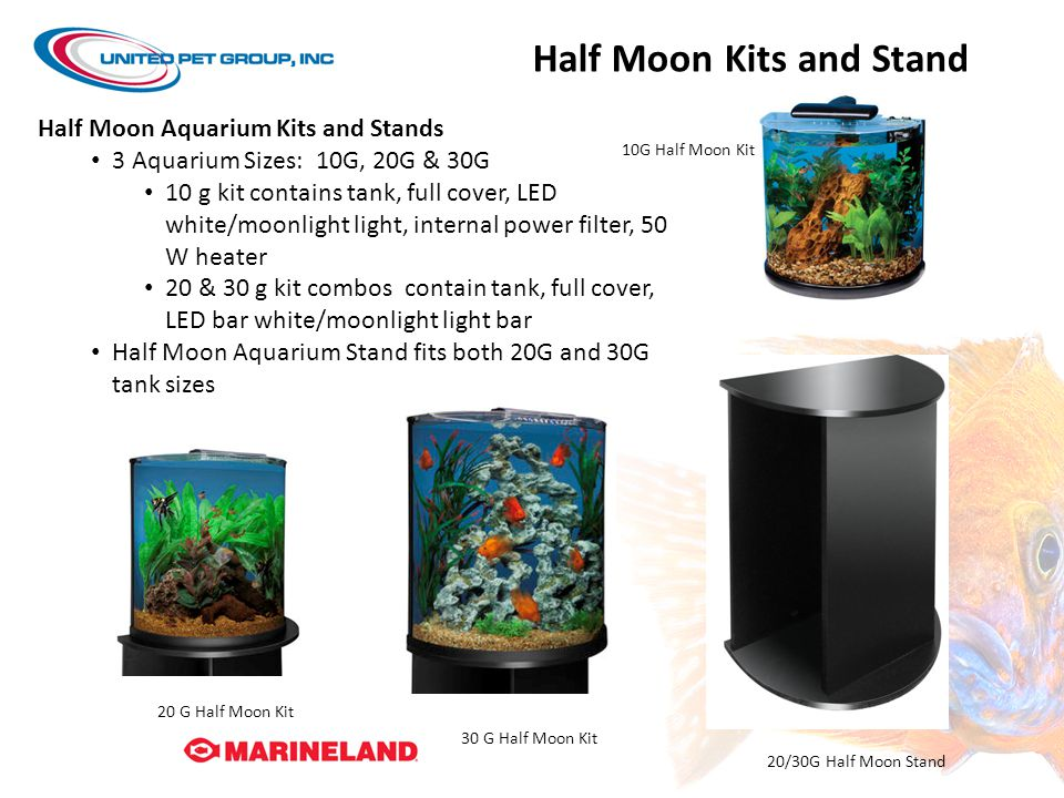 Half Moon Kits and Stand
