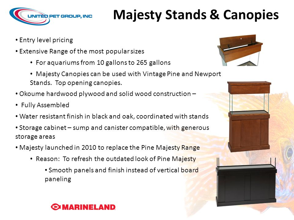 Majesty Stands & Canopies