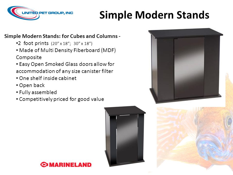 Simple Modern Stands Simple Modern Stands: for Cubes and Columns -