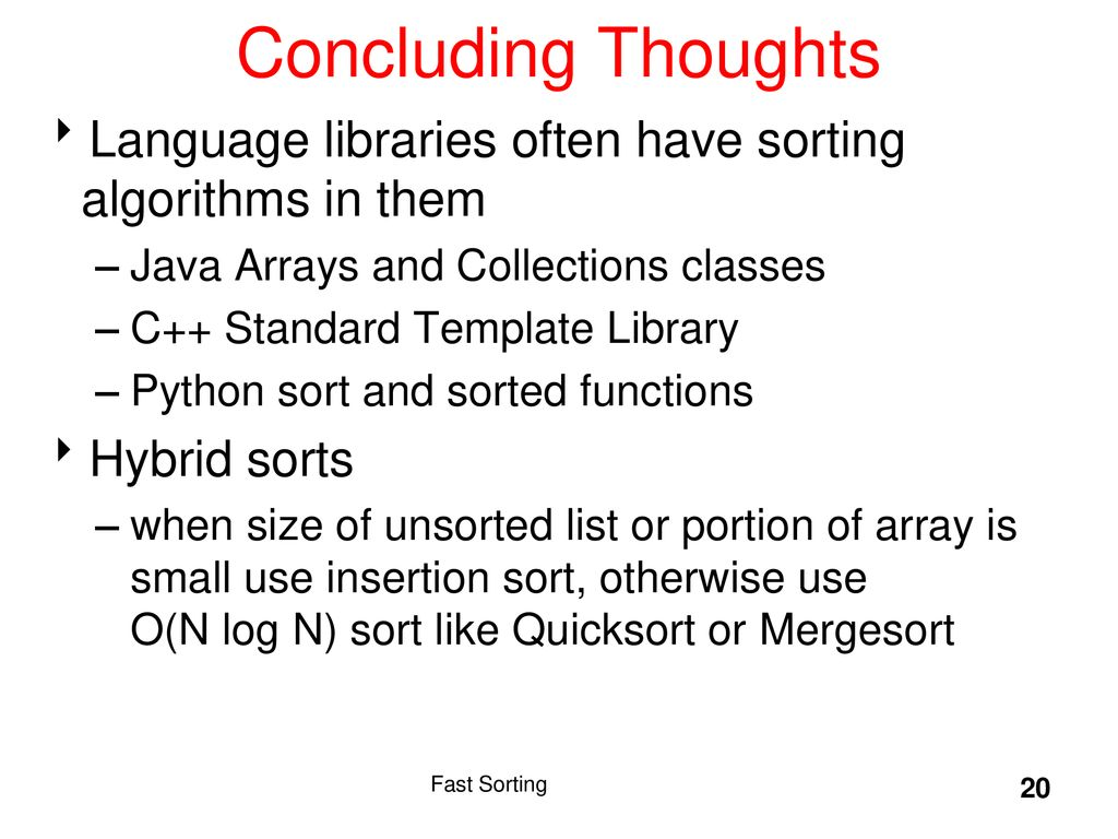 Insertion Sorting Algorithm With Example In C C Java Languages