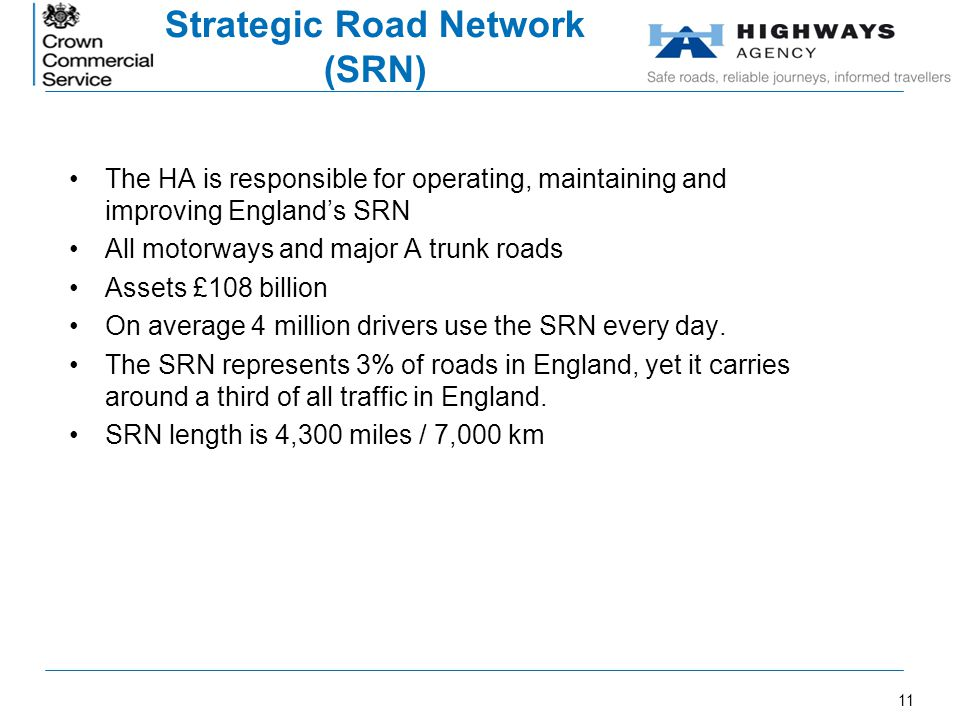 Strategic Road Network (SRN)