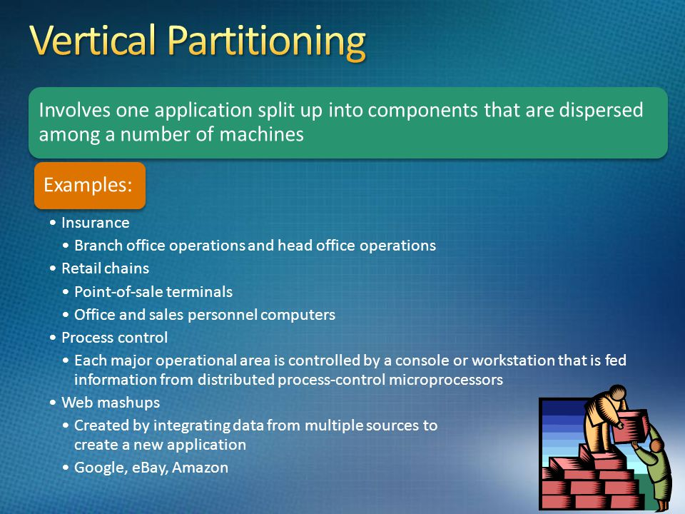 Vertical Partitioning