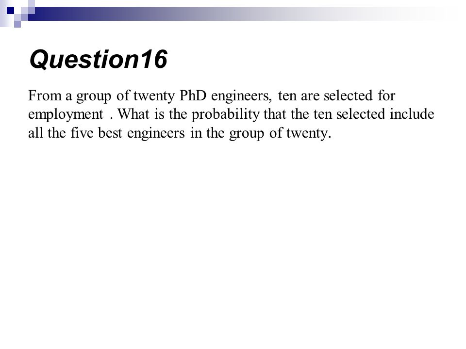 Question16