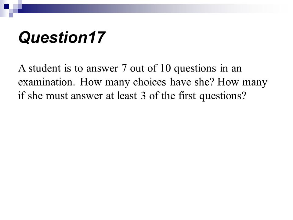 Question17