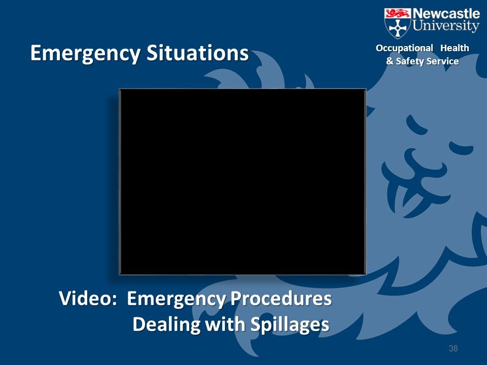 Emergency Situations Video: Emergency Procedures