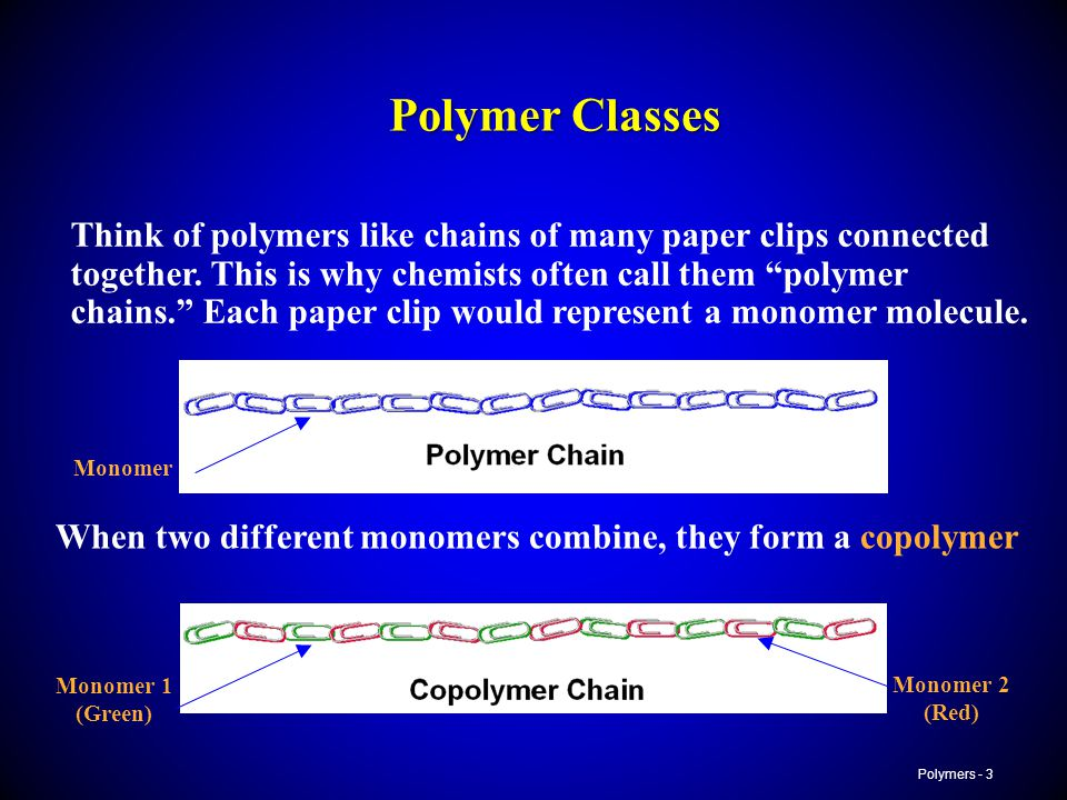 Polymer Classes
