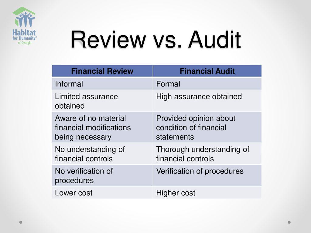 financial bootcamp part   audit process