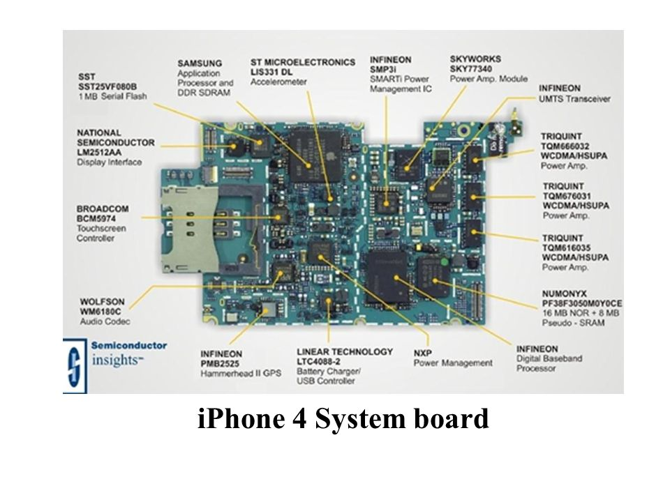 iPhone 4 System board