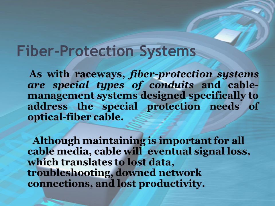 Fiber-Protection Systems